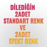 2 EFEKT RENK Plasti Dip® + 2 STANDART RENK Plasti Dip® Sprey Kampanyası