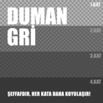 Plasti Dip Sprey -  Mat Duman Gri 400ml