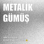 Plasti Dip Sprey -  Mat Metalik Gümüş 400ml