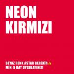 Plasti Dip Sprey -  Mat Neon Kırmızı 400ml